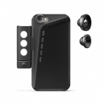 Комплект Manfrotto MKLOKLYP6 Black Case iPhone6 + 2 Lenses+LED: чехол для iPhone 6 + объективы + свет