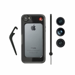 Комплект Manfrotto MKOKLYP5S: Бампер для iPhone 5/5S, объективы fisheye, portrait 1,5х, wideangle