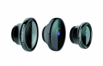 Комплект объективов Manfrotto MOKLYP5S Set Of 3 Lenses для бампера KLYP+