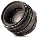 Объектив Гелиос 44-2 58мм F2 для Sony Alpha (A-mount) с чипом