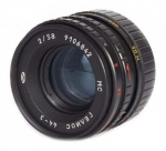 Объектив Гелиос 44-3 58мм F2 для Sony Alpha (A-mount) с чипом