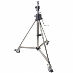 Стойка KUPO 484 Heavy Duty Wind-Up Stand with Braked Caster (179-386 см) с редукторной колонной