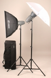 Комплект освещения Visico VL PLUS 200 Softbox Umbrella Kit с сумкой