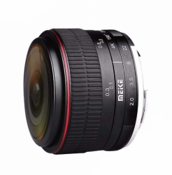 Объектив Meike 6.5mm f/2 FishEye Ultra Wide для FujiFilm FX