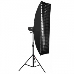 Софтбокс жаропрочный Mingxing Grid Softbox 22x90 cm